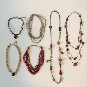 Chico's The Limited Necklace Bundle Lot